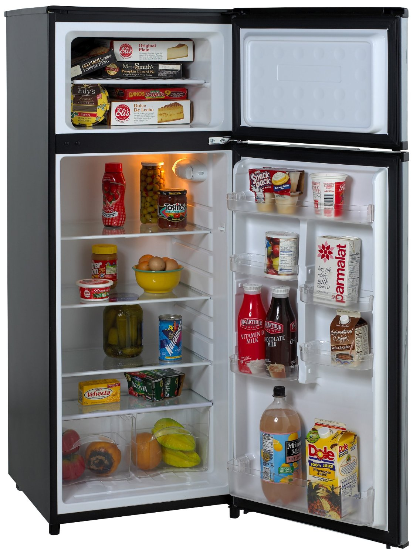 Avanti RA7316PST 2-Door Apartment Size Refrigerator,