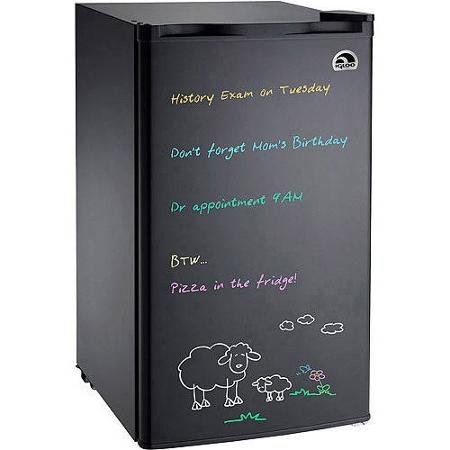 Igloo Eraser Board Refrigerator, 3.2 Cu Ft Black