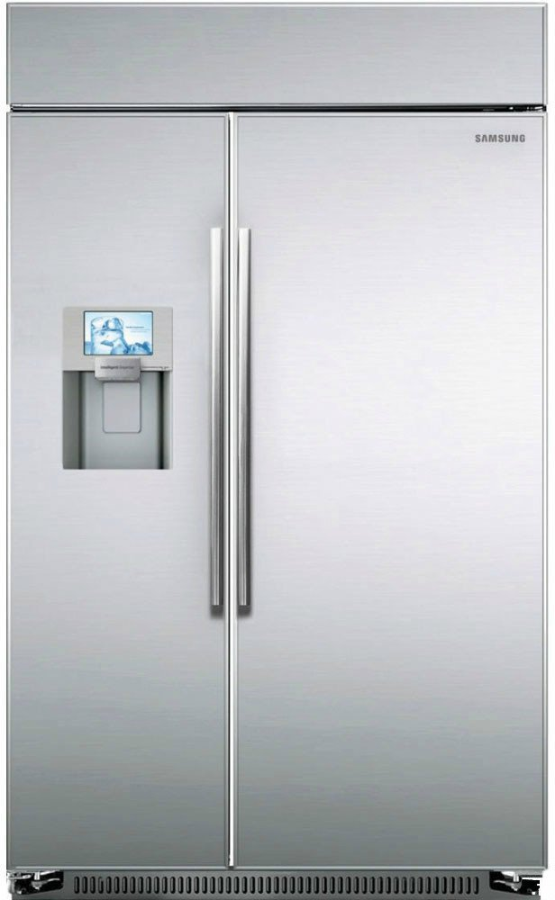 Samsung Rs27fdbtnsr Built In Side By Side Refrigerator 48