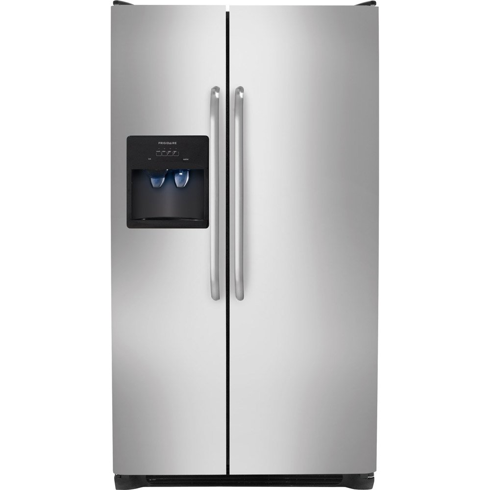 Frigidaire FFSS2614QS26.0 Cu. Ft. Stainless Steel Side-By-Side Refrigerator