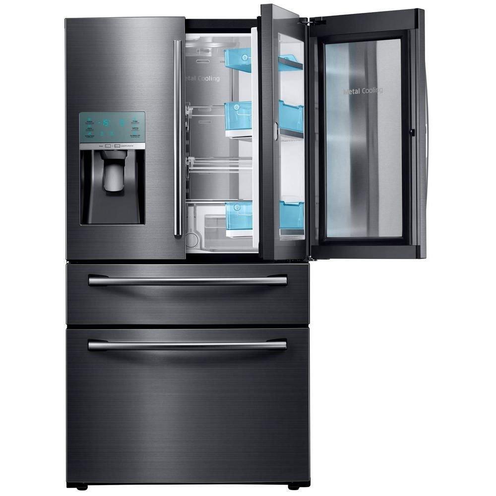 Samsung Rs27fdbtnsr Built In Side By Side Refrigerator 48