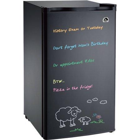 Igloo 3.2 cu. ft. Eraser Board, Flush-Back Design Mini Refrigerator, Model: FR326M-C-Black