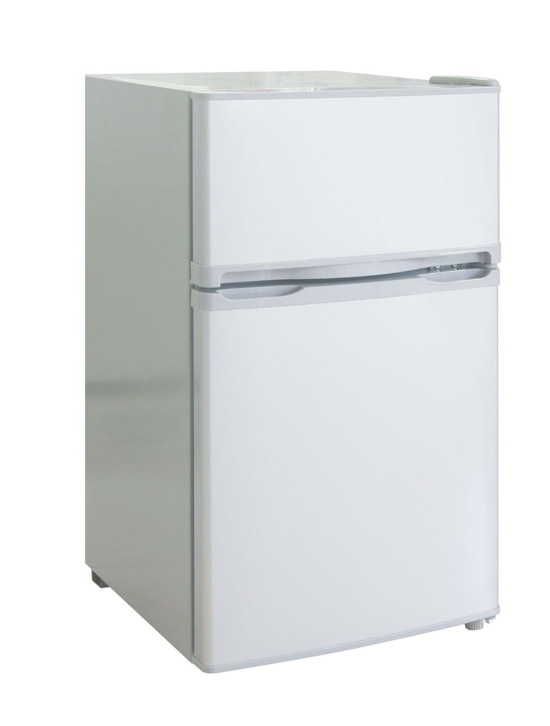 RCA-Igloo 3.2 Cubic Foot 2 Door Fridge and Freezer, White