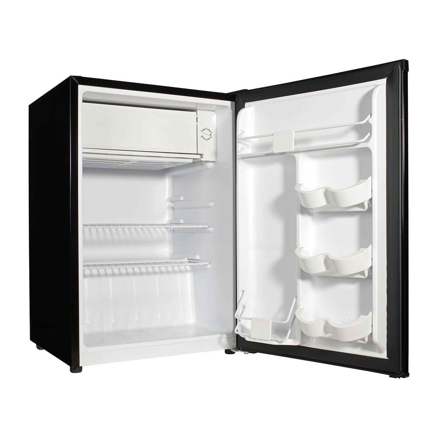 GZ 2.7 cubic foot stainless look compact dorm refrigerator