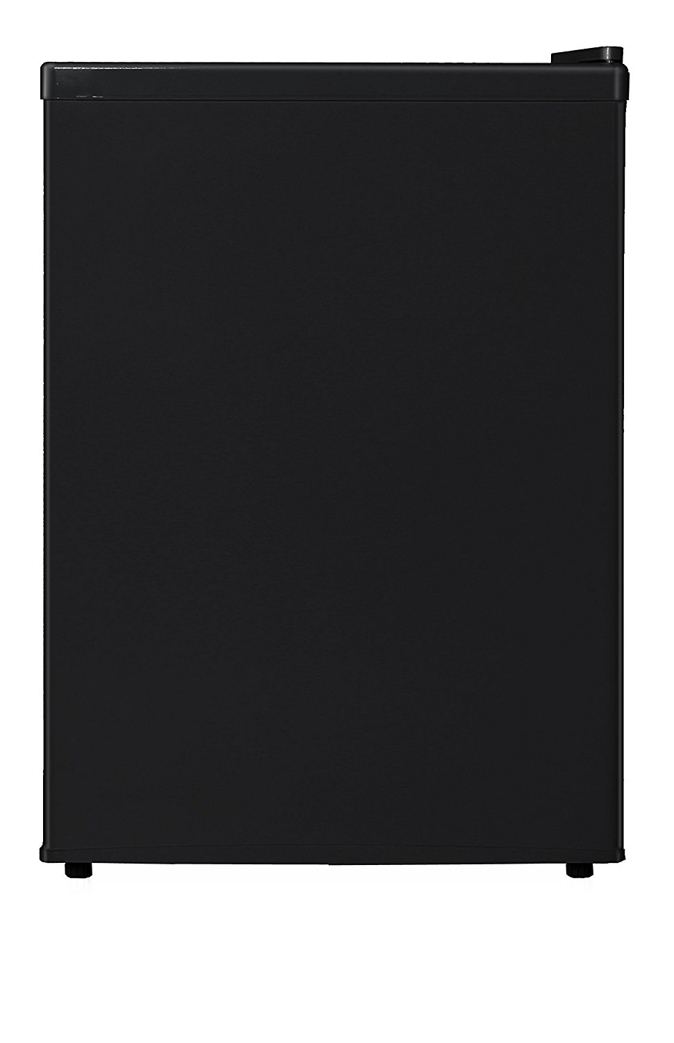 Midea WHS-87LB1 Compact Single Reversible Door Refrigerator and Freezer, 2.4 Cubic Feet, Black
