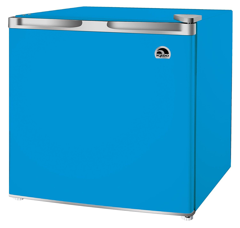 RCA 1.6-1.7 Cubic Foot Fridge, Blue
