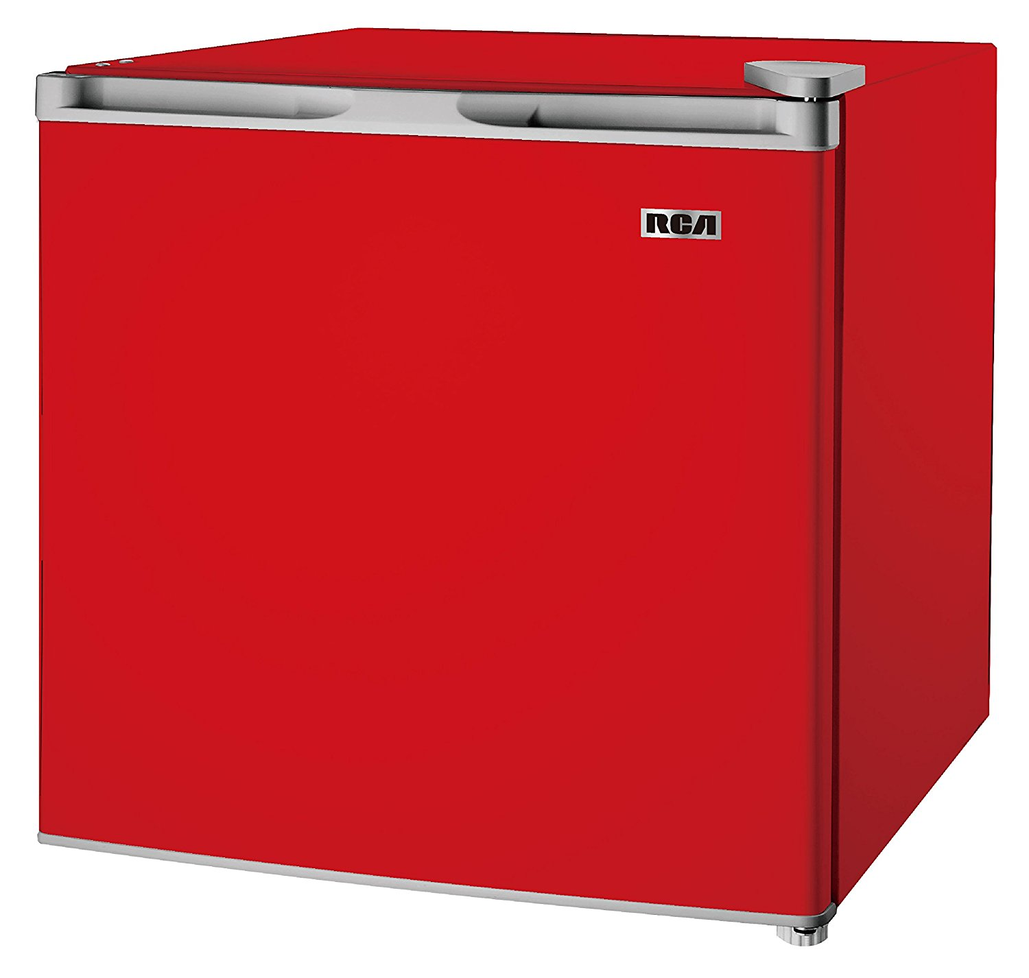 RCA 1.6-1.7 Cubic Foot Fridge, Red