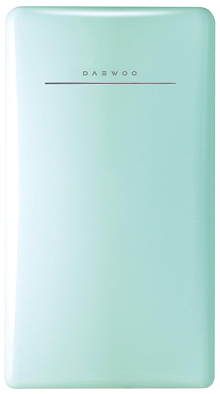 Daewoo FR-044RCNM Retro Compact Refrigerator, 4.4 cu. ft., Mint