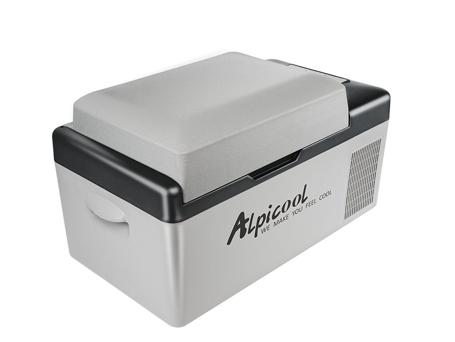Alpicool C20 dc compressor car fridge freezer 12V 24V 110V -20C car and home use 20 Litres