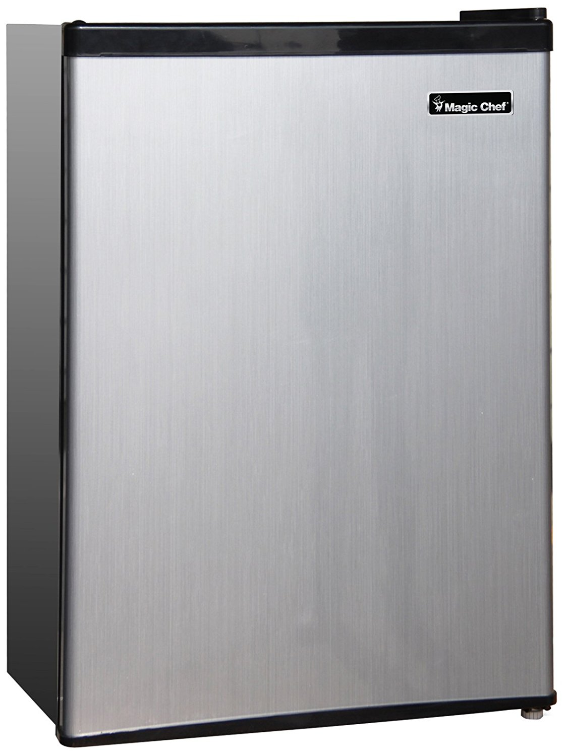 Magic Chef MCBR240S1 Refrigerator, 2.4 cu. ft., Stainless Look