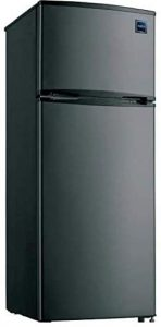 7.4 Cubic Foot Stainless Steel Look Refrigerator
