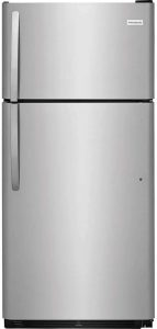 Frigidaire FFTR1821TS 30 Inch Freestanding Top Freezer Refrigerator with 18 cu. ft. Total Capacity